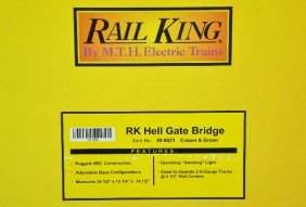 MTH Rail King 30-9021 Hellgate Bridge