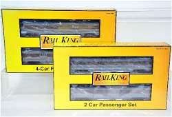 7 Pc Rail King Erie Lackawanna Passenger Cars