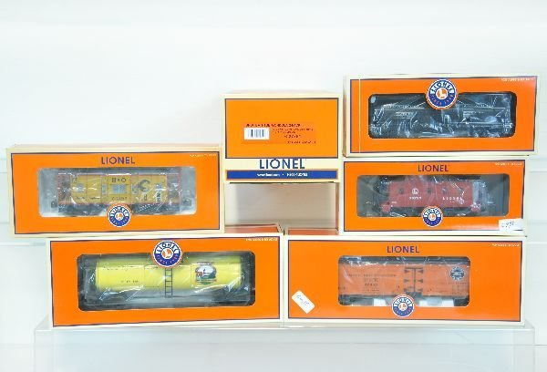 6 Pc Lionel Freight Car Lot