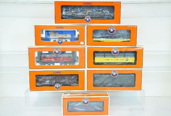 8 Pc Lionel Freight Car Lot