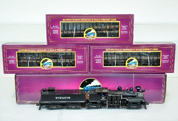 MTH WVP&P Logging Train