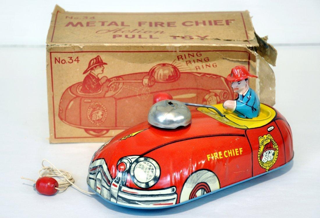 Boxed Superior Fire Chief Car