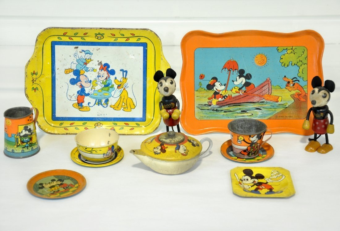 Early Disney Mickey Mouse Toys