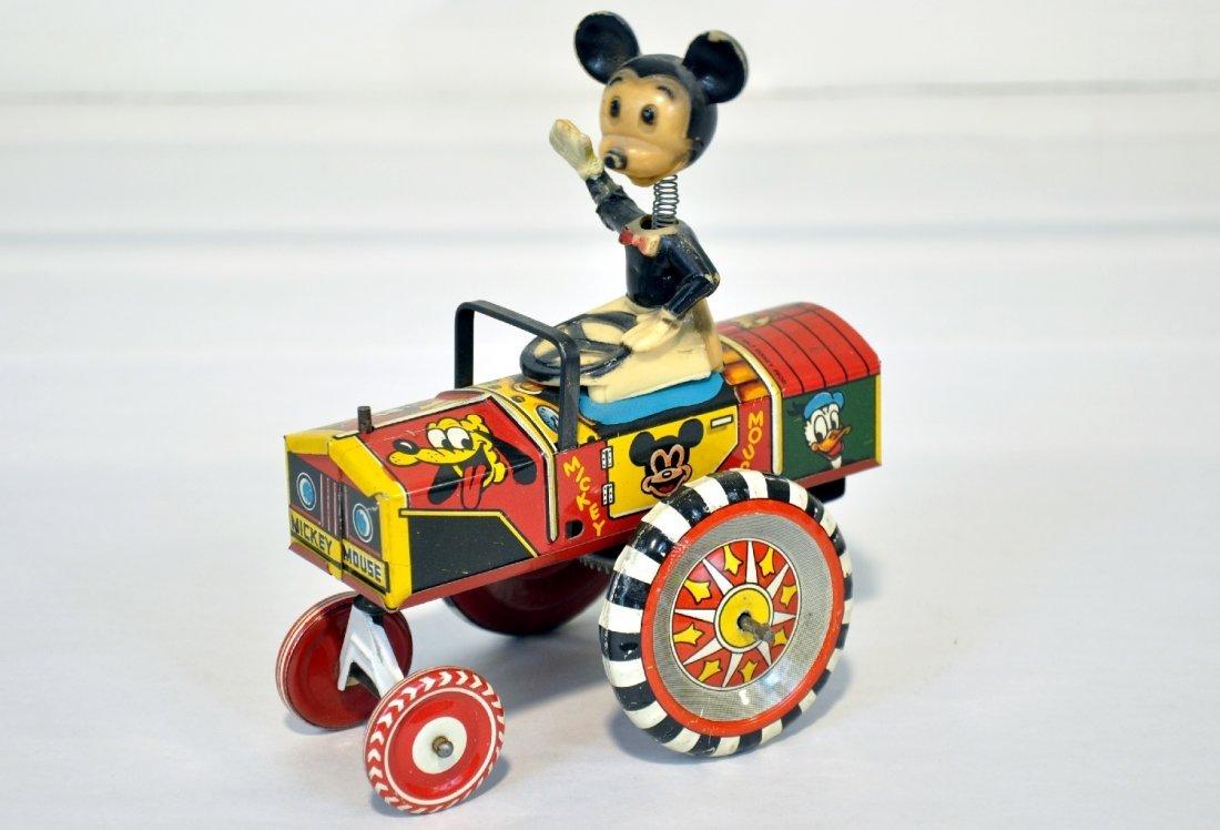 Marx Mickey Mouse Dipsy Car