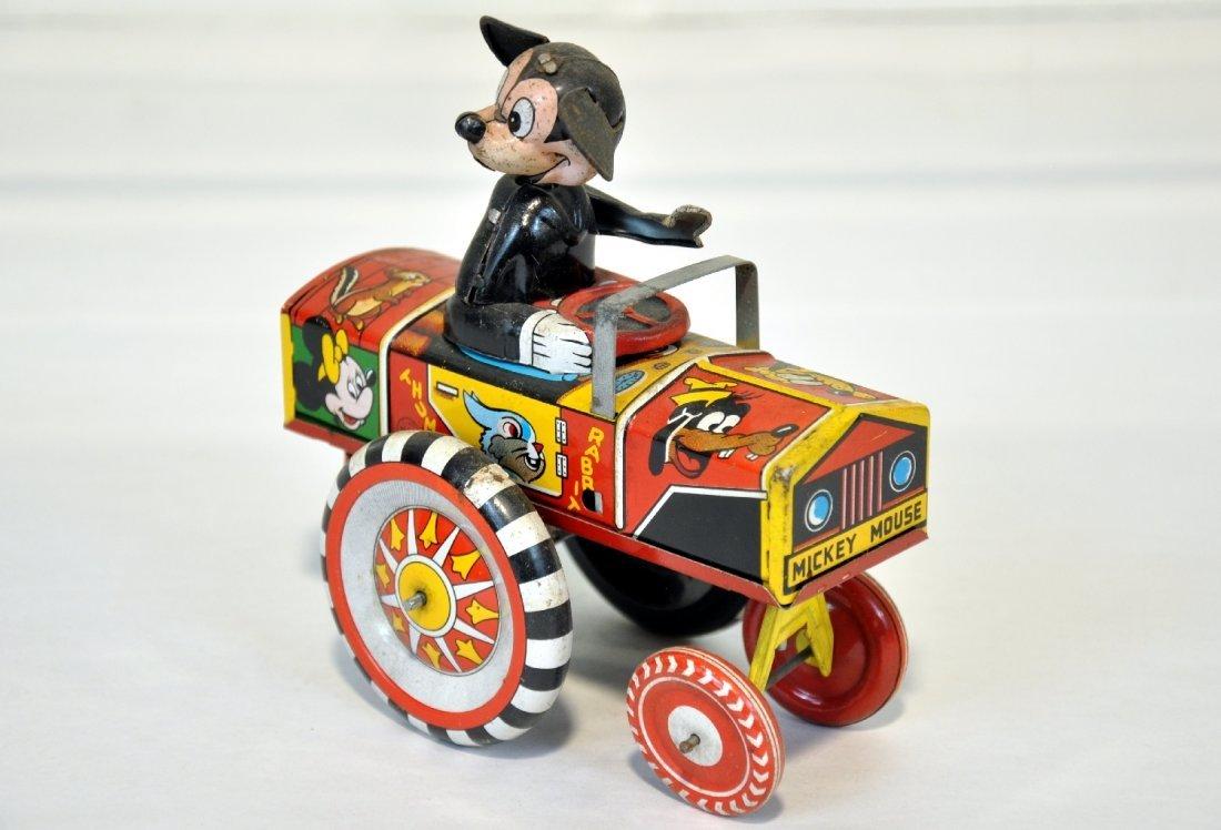 Scarce Early Marx Mickey Mouse Dipsy Car