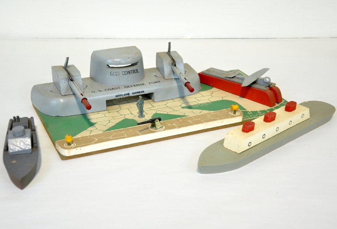 Keystone US Coastal Defense Fort