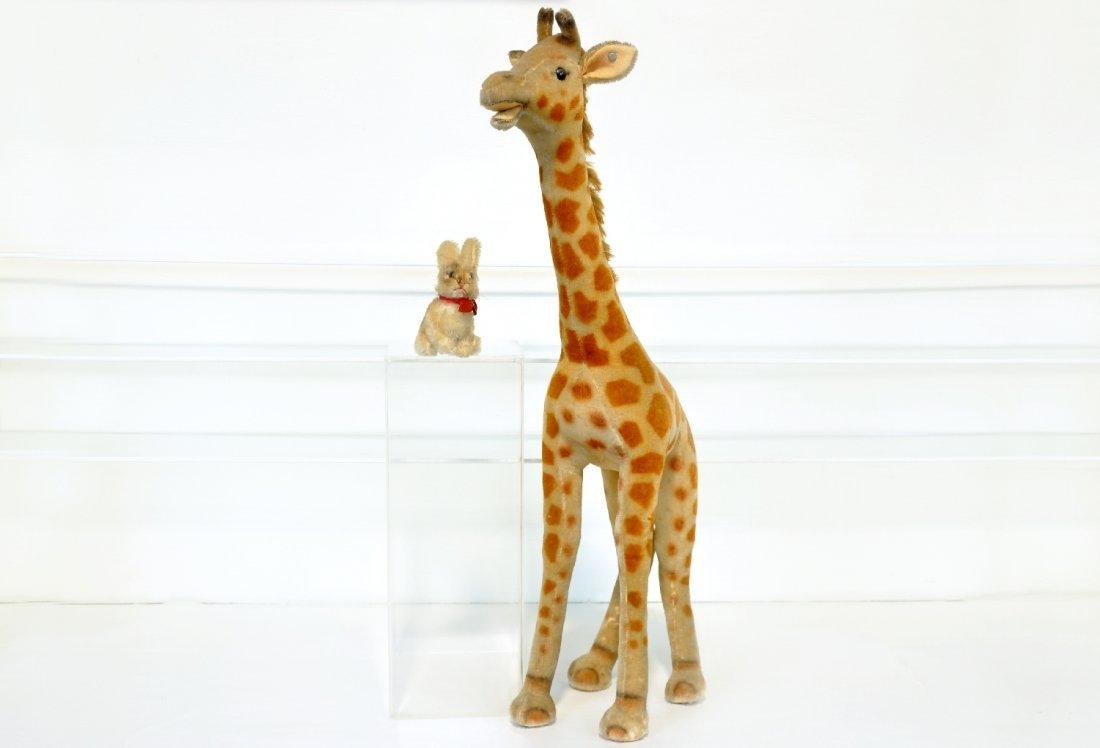Steiff Giraffe & Bunny