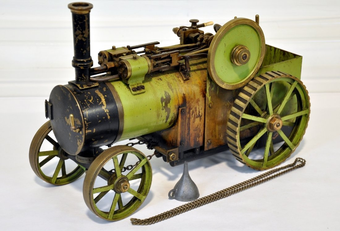 Bassett-Lowke Live Steam Traction Engine