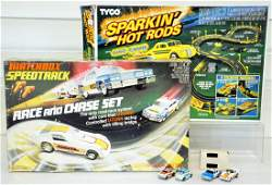 Matchbox  Tyco Slot Car Sets