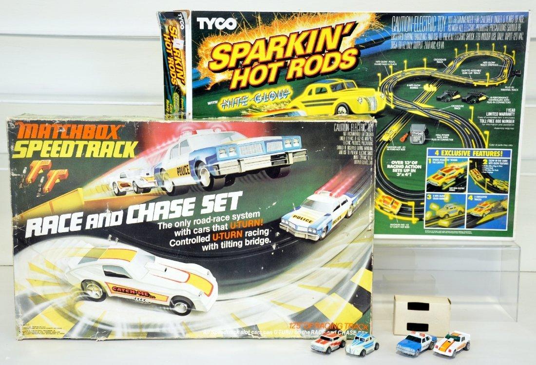 Matchbox & Tyco Slot Car Sets