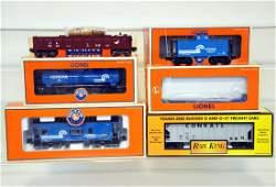 6 Pc Lionel & MTH Conrail Freight Car Lot