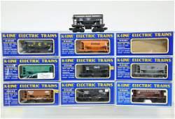 9 Pc K-Line Ore Car Lot