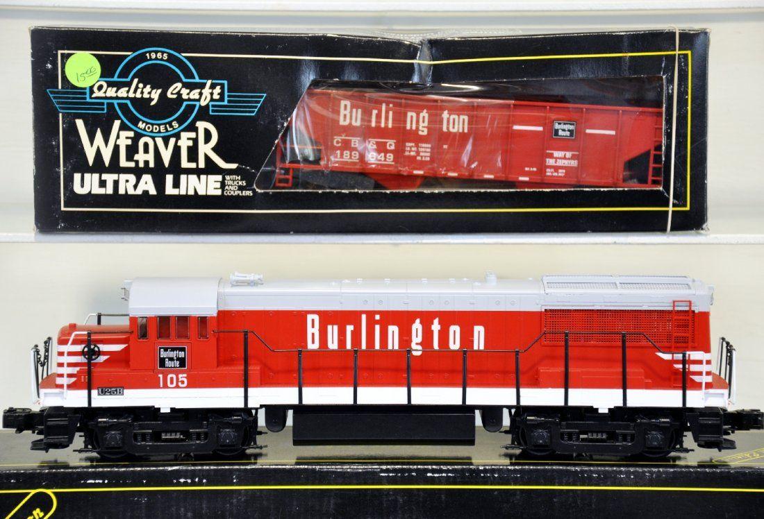 Weaver U25B Diesel Engine and Hopper