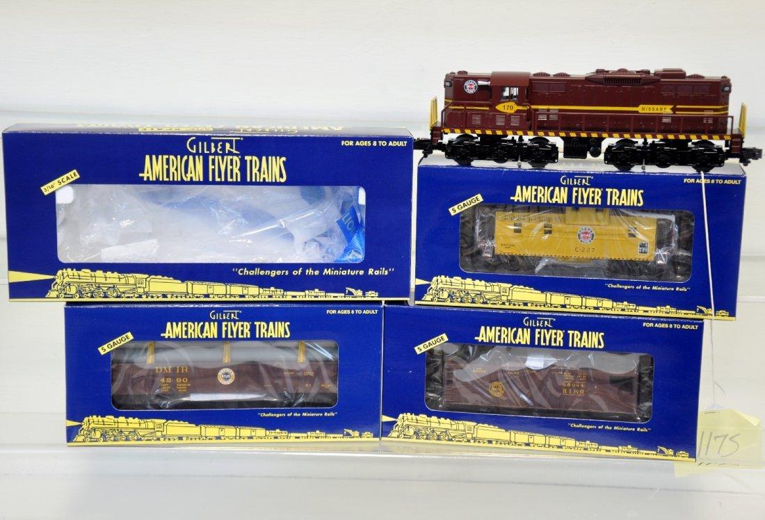 Lionel American Flyer DM&I Freight Set