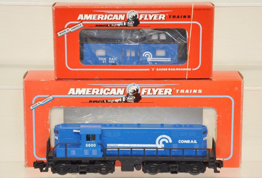 Lionel American Flyer 48013 Conrail GP-7 & Caboose