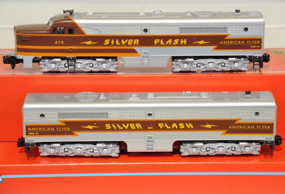 2 Lionel American Flyer Silver Flash Add-ons