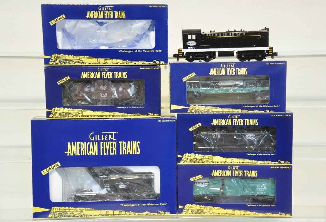 Lionel American Flyer New York Central Freight Set