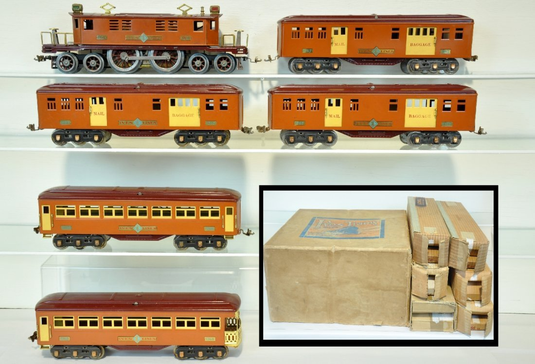 Super Rare Boxed Ives 1764E Set