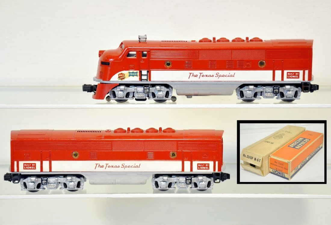 Mint Boxed Lionel 2245 TS F3 AB Diesels