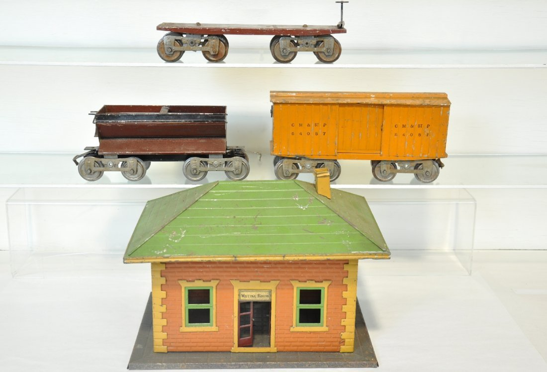 4Pc Early Lionel Lot