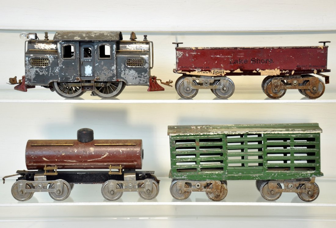 4Pc Lionel Early Set for Restoration
