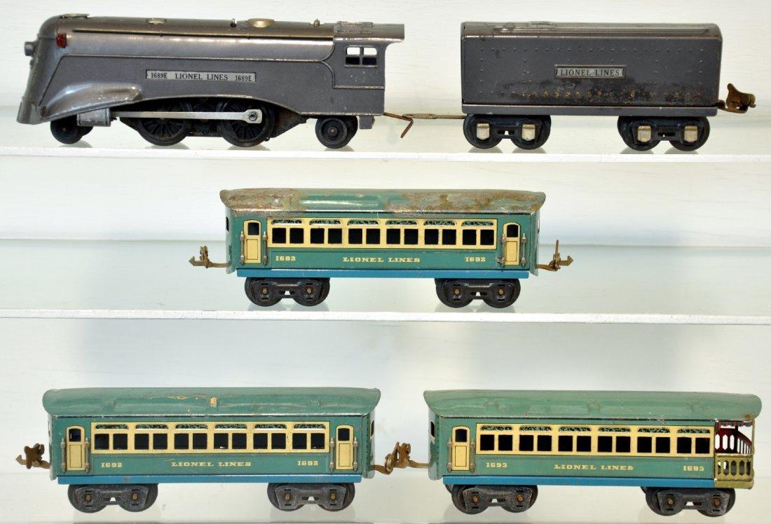 5Pc Lionel 1689 Train Set