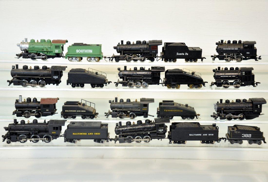 11 HO Steam Locomotives