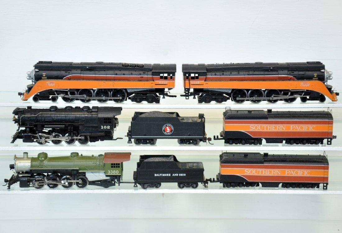 4 HO Steam Locomotives