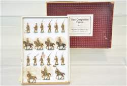 Large Boxed Heyde American Infantry  Cavalry