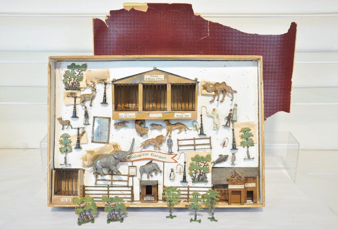 Rare Boxed Heyde Zoo Set