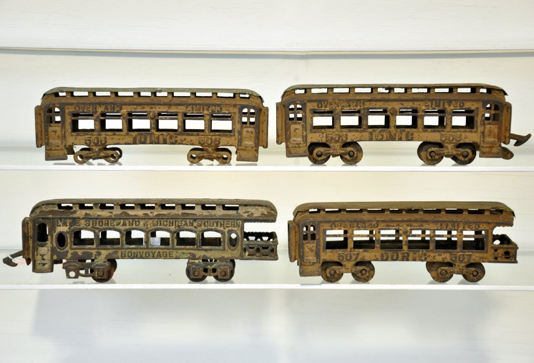 Scarce Hubley Overland Limited Trains