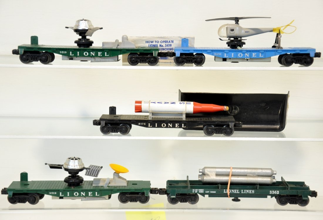 5 Lionel Late Freight Cars