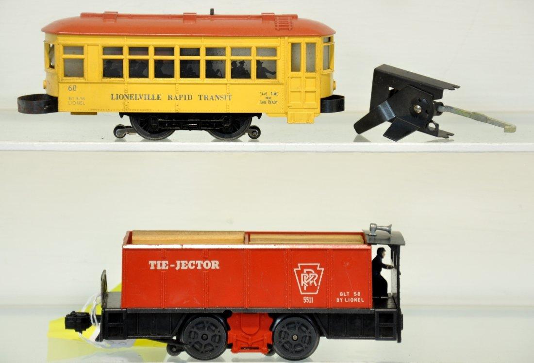 Lionel 55 & 60 Motorized Units