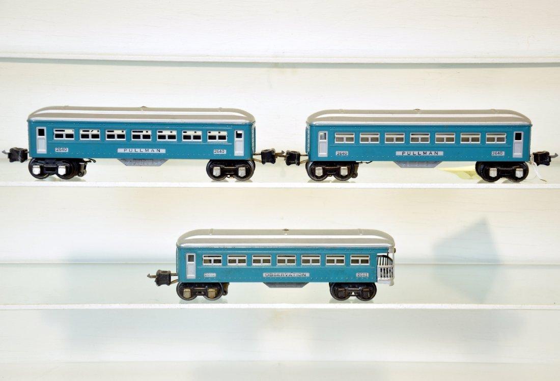 3 Lionel Passenger Cars