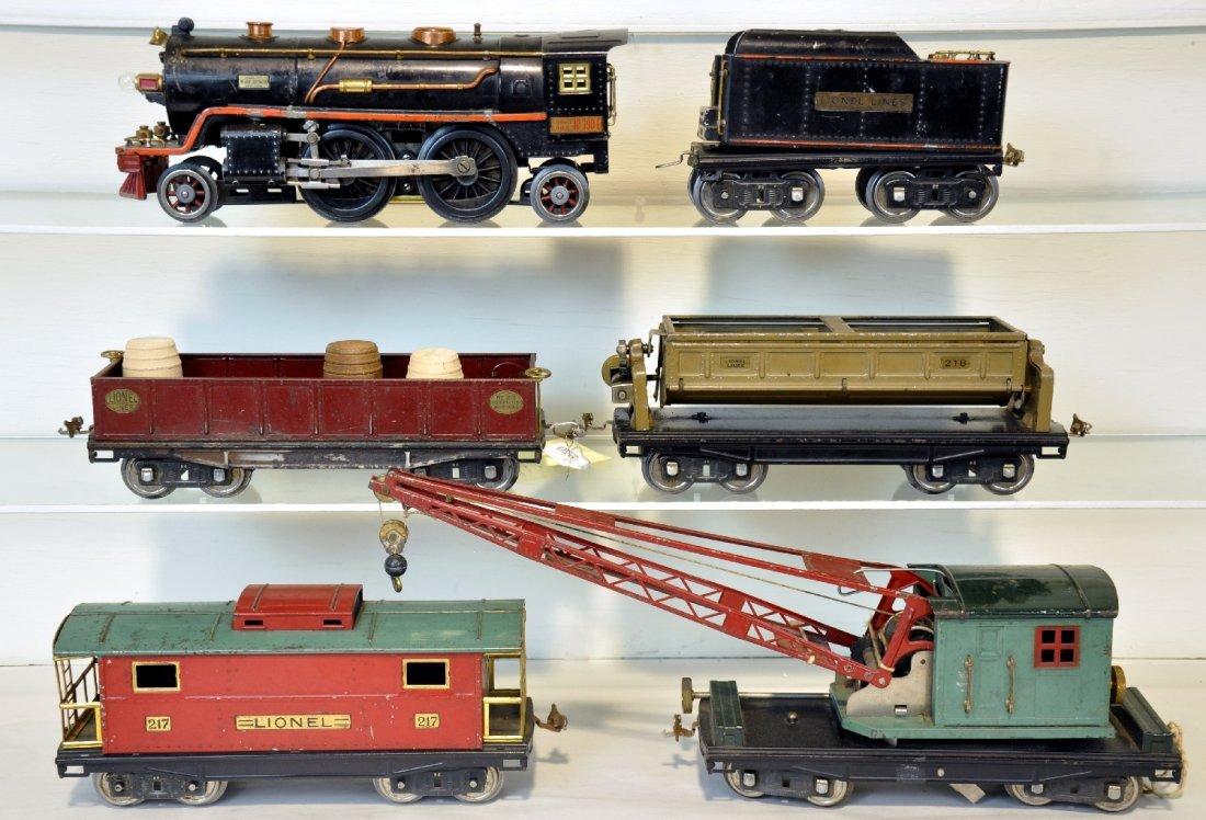 Scarce Lionel Early 390E Work Train (358E)