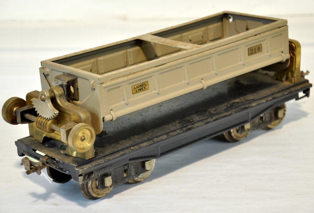 Early Lionel 218 Tipple Dump Car