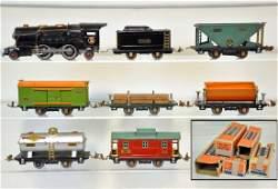 8Pc Lionel 259E Steam Freight Set