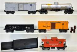 5 Early Lionel Freight Cars