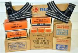Boxed Lionel Track Accessories