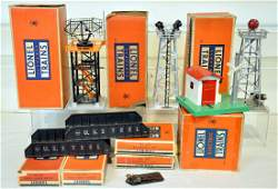 8 Clean Boxed Lionel Accessories