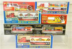 7 K-Line Circus Freight Cars