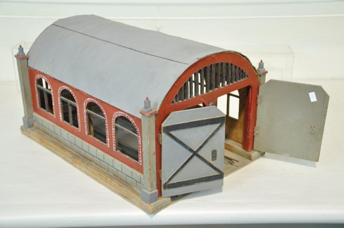 Custom O Gauge Engine Barn