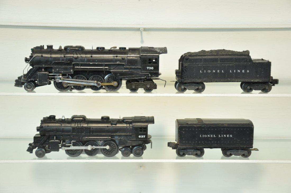 Lionel Steam Locos & Tenders