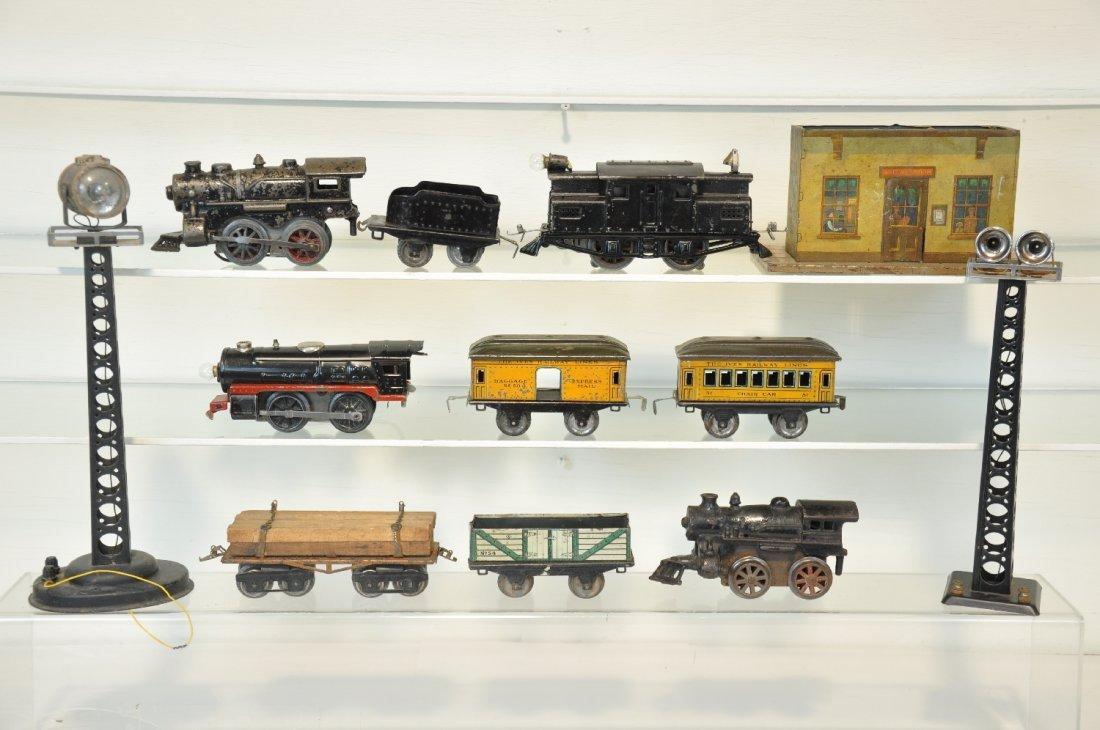 Ives Train Lot, Plus