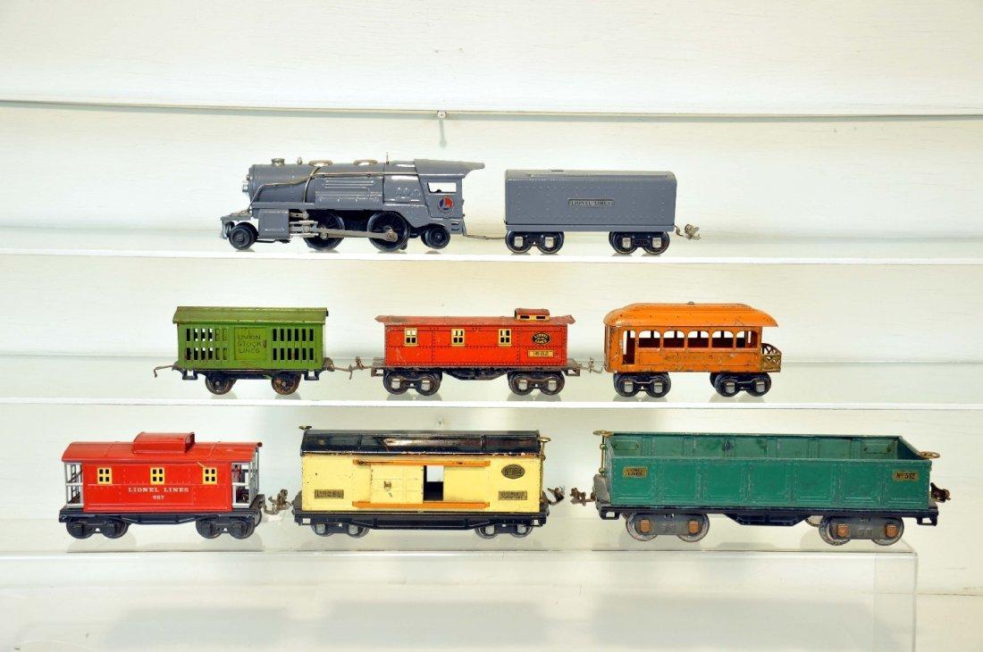 8 Pre War Lionel Trains