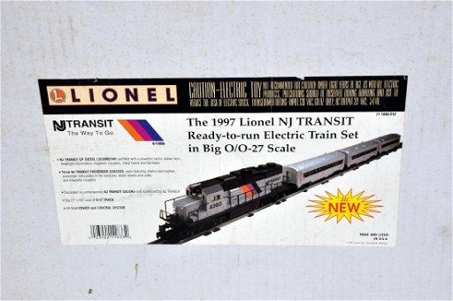 Lionel 11833 NJ Transit Set