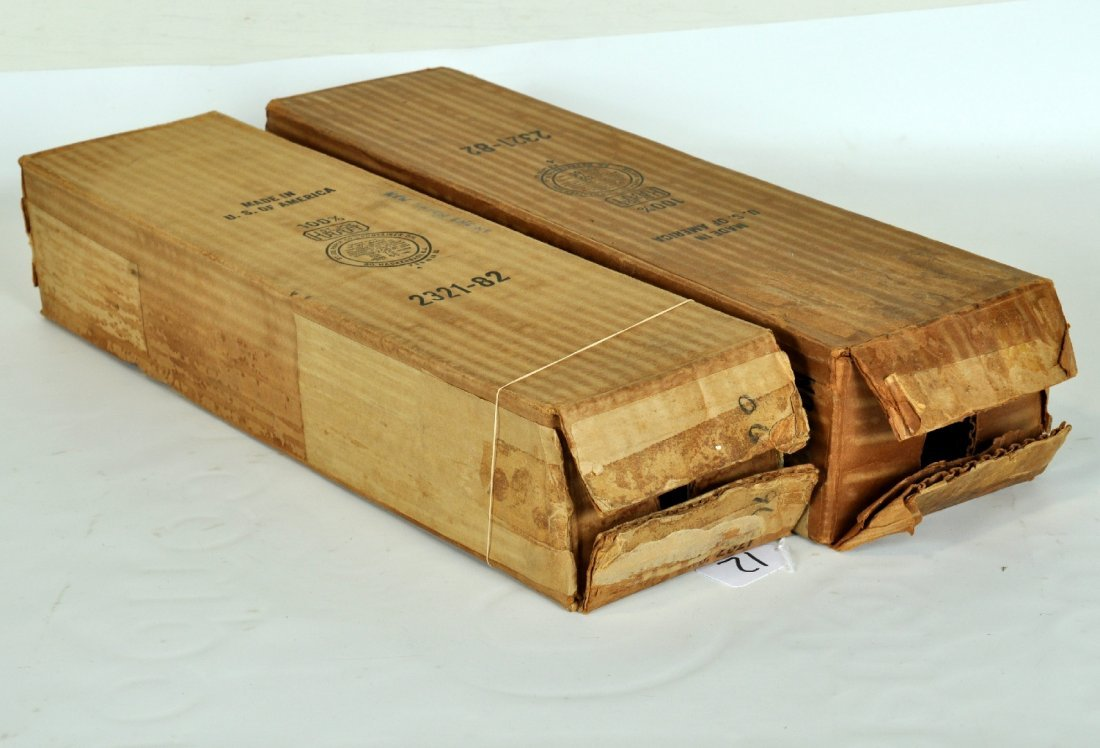 2 Empty Lionel 2321 FM Boxes