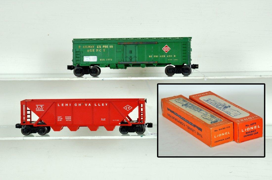 Unrun Boxed Lionel 6572 & 6436-110