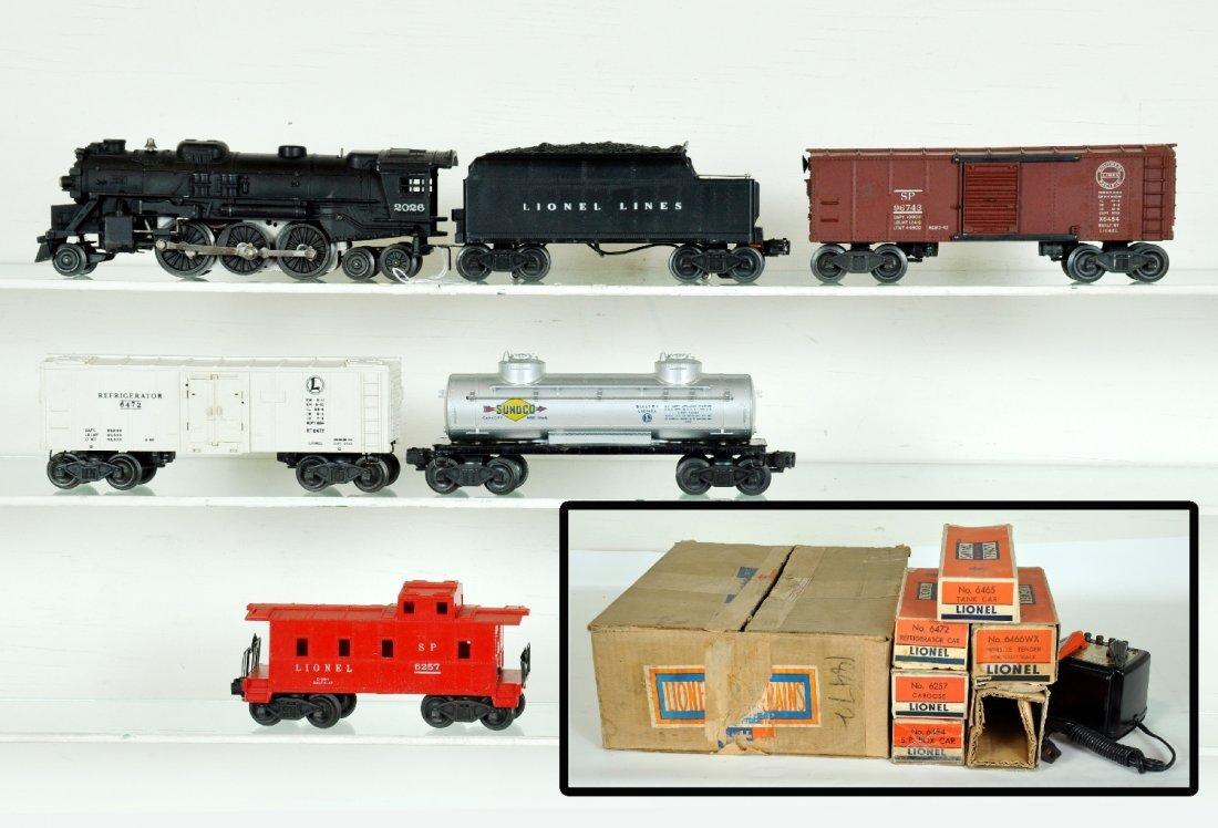 Boxed Lionel Set 1427WS, Plus