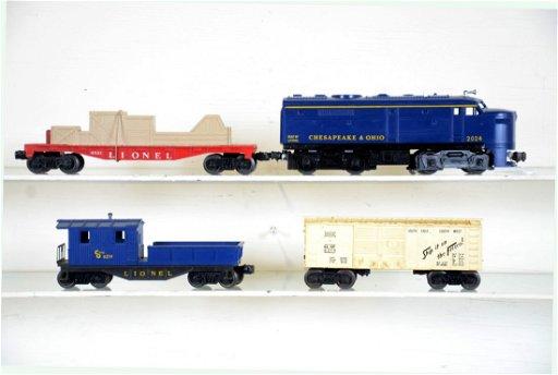 4Pc Lionel 2024 Diesel Freight Set